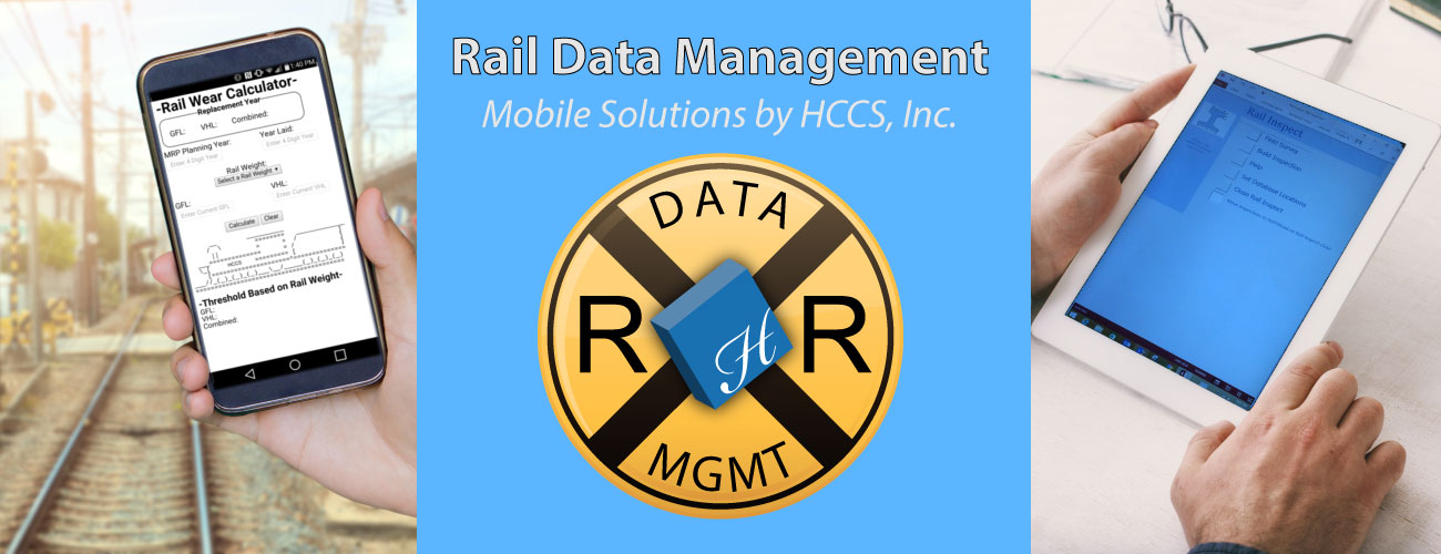 Rail Data Management with mobile solutions.